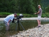 Shooting Phill Epp on the Kettle River