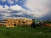Hay at the Big Hole C4 Ranch