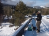 Seven Jib on the West Kettle River